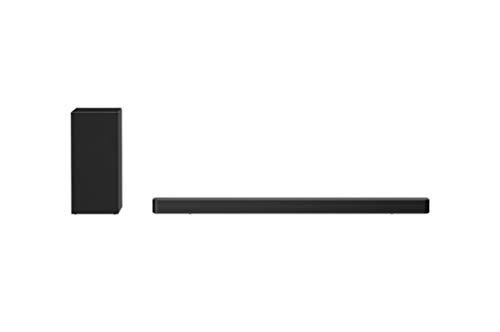 LG SN6Y - Barra de sonido 3.1 con 420W de potencia, DTS Virtual:X, subwoofer...