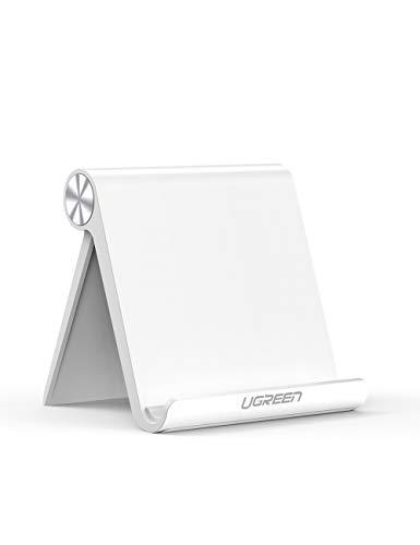 UGREEN Soporte Tablet, Multiángulo Soporte Ajustable para 4 a 13' Tablets y Moviles,...