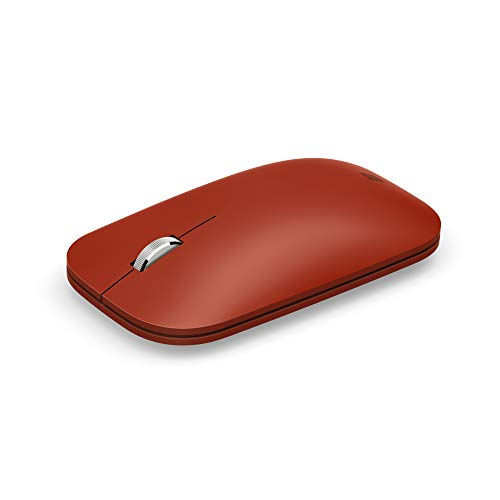 Microsoft Surface Mobile Mouse - Ratón portátil, Color Rojo