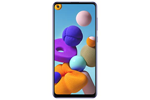 Samsung Galaxy A21s - Smartphone de 6.5' (4 GB RAM, 64 GB de memoria interna, WiFi,...
