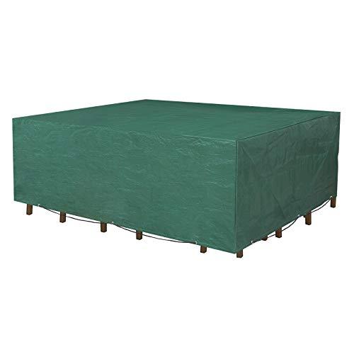 SONGMICS Funda Protectora para Muebles de jardín, 250 x 200 x 80 cm, para Mesas y...