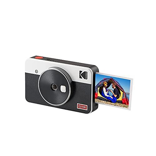Kodak Mini Shot 2 Retro, cámara instantánea portátil e Impresora fotográfica, iOS...