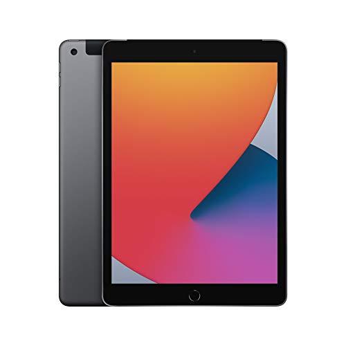 2020 Apple iPad (de 10,2Pulgadas, con Wi-Fi + Cellular y 32GB) - Gris Espacial...