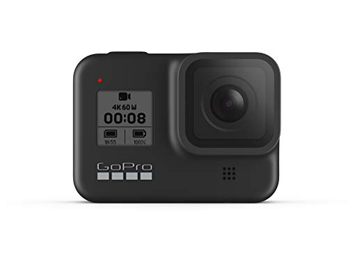 GoPro HERO8 Black - Cámara de acción Digital 4K Resistente al Agua con...