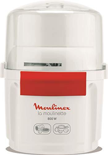 Moulinex AD5601 - Picadora la moulinette 800 w, pica, mezcla y corta, Sistema 1-2-3...