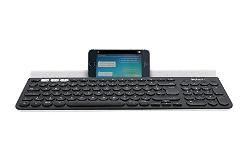 Logitech K780 Teclado Inalámbrico Multi-Dispositivos para Windows, Disposición...