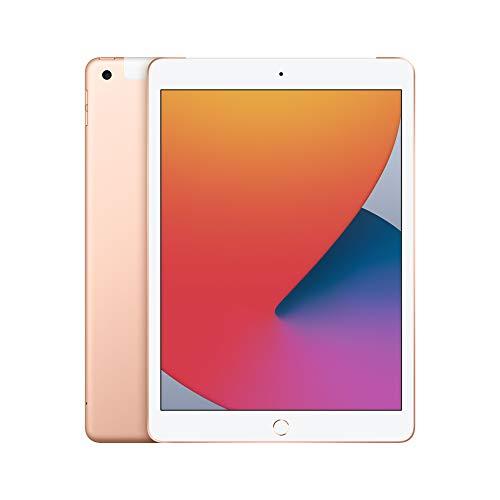 2020 Apple iPad (de 10,2Pulgadas, con Wi-Fi + Cellular y 32GB) - Oro...