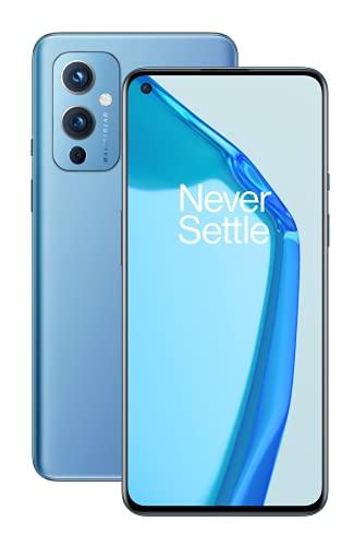 ONEPLUS 9 5G Smartphone con cámara Hasselblad para móvil - Arctic Sky, 8GB de RAM +...