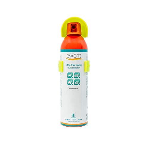 Ewent EW5621 - Spray Extintor fuego 500gr (350ml) - Apaga incendios pequeños. para...