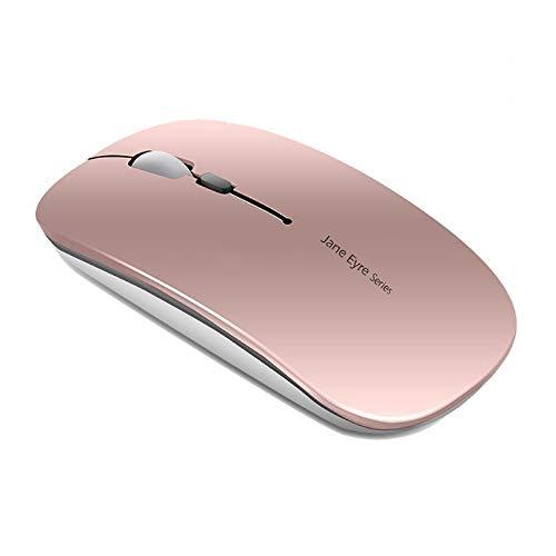 Q5 Ratón Inalámbrico Recargable, Mouse Wireless 2.4G Mute de Mouse Inalambrico,...
