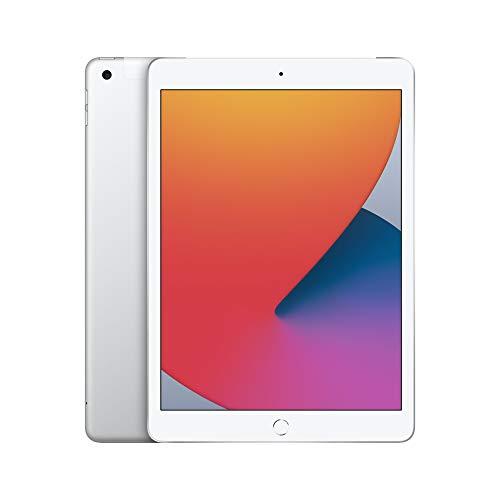 2020 Apple iPad (de 10,2Pulgadas, con Wi-Fi + Cellular y 32GB) - Plata...