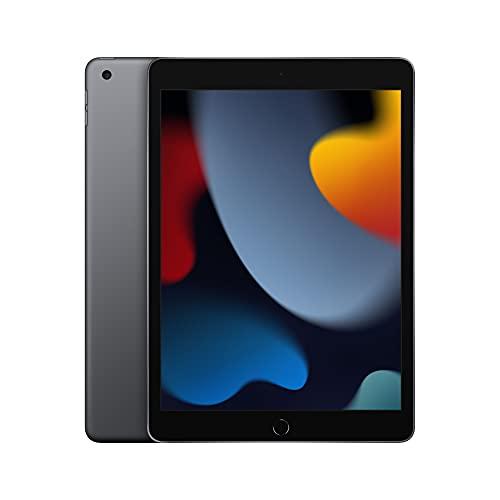 2021 Apple iPad (de 10,2pulgadas con Wi-Fi, 64GB) - Gris espacial (9.ª...