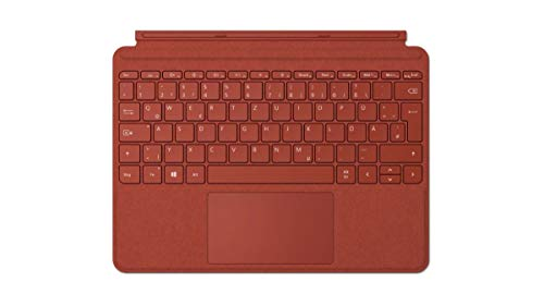 Microsoft Surface Go Signature Type Cover QWERTZ - Red
