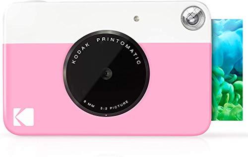 Kodak Printomatic - Cámara de impresión instantánea, imprime en Papel Zink 5 x 7.6...
