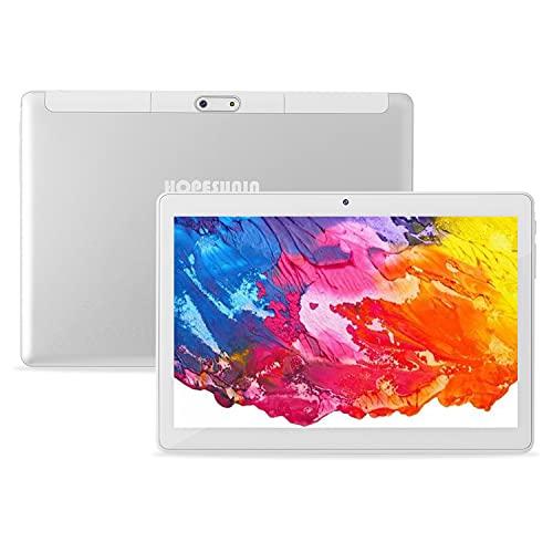 HOPESUNIN Tableta Android de 10 Pulgadas, Equipada con Android 10.0 ultrarrápida,...