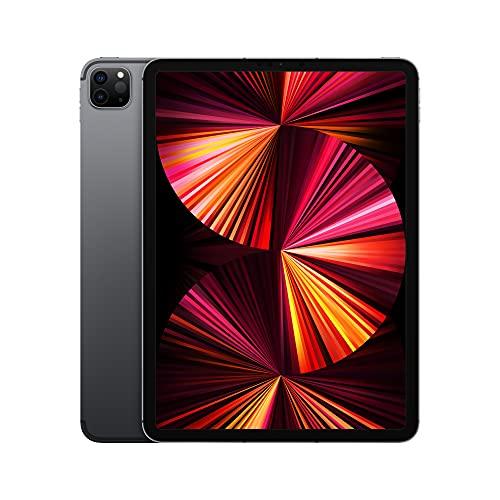 2021 Apple iPadPro (de 11Pulgadas, con Wi-Fi + Cellular, 128GB) - Gris Espacial...
