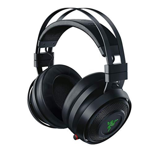 Razer Nari Auriculares Inalámbricos para juegos con THX Spatial Audio, Almohadillas...