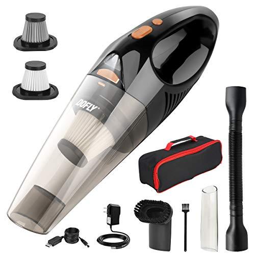 DOFLY Aspiradora de Mano sin Cable Potente, Aspirador de Coche de 12V 120W 8500PA,...