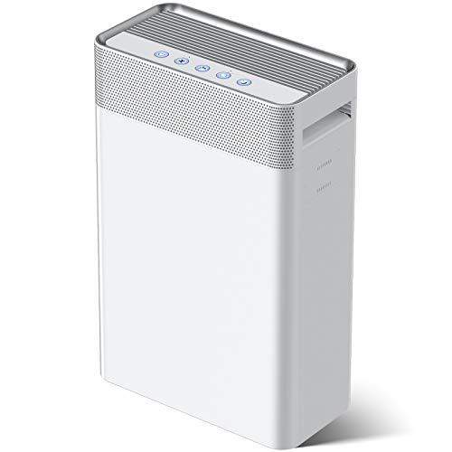 Purificador de Aire 5 en 1,con pre-filtro,Filtro HEPA y Carbón Activado,Generador de...