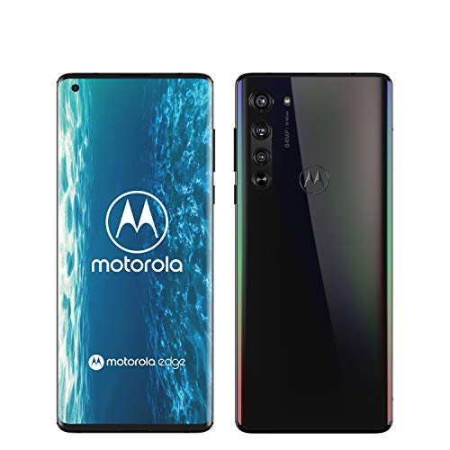 Motorola Moto Edge - Smartphone 128GB, 6GB RAM, Dual Sim, Solar Black