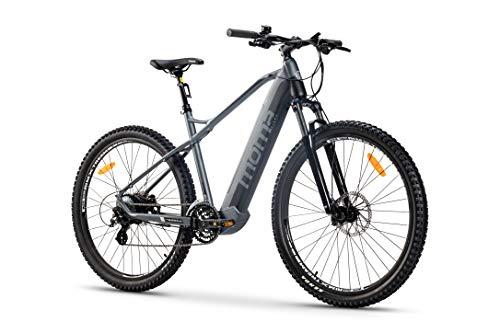 Moma Bikes Bicicleta Eléctrica E-MTB 29', Shimano 24vel, frenos hidráulicos,...