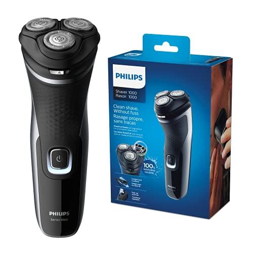 Philips Serie 1000 S1332/41 - Afeitadora Eléctrica Para Hombre Con Cuchillas...