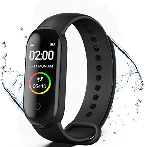 Reloj Inteligente,Pulsera de Actividad física,Smartwatch con Oxígeno Sanguíneo...