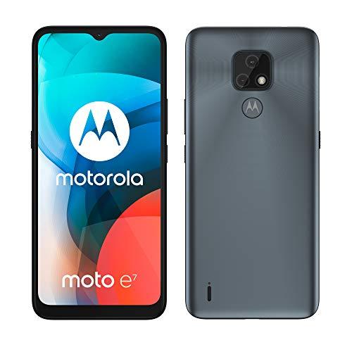 Motorola Moto E7 - Smartphone de 6.5' (HD+ MAX Vision, Sistema de cámara Dual de 48...