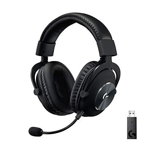 Logitech G PRO X Auriculares Inalámbricos LIGHTSPEED para Gaming, Micrófono Blue...