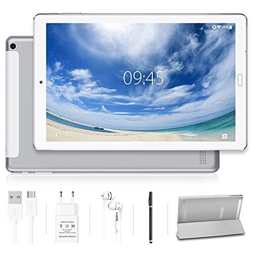 Tablet 10.0 Pulgadas YESTEL Android 10.0 Tablets con 4GB RAM + 64GB ROM/WiFi  ...