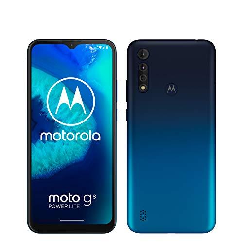 Motorola Moto G8 Power Lite (Pantalla 6,5' HD+, procesador octa-core 2.3GHz, cámara...