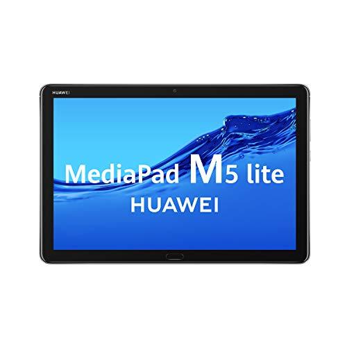 HUAWEI MediaPad M5 Lite 10 - Tablet de 10.1' FullHD (Wifi, RAM de 3GB, ROM de 32GB,...