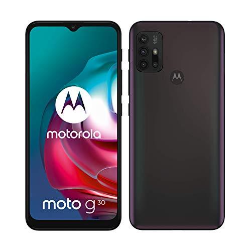 Motorola Moto g30 (Pantalla de 6.5' 90Hz, Qualcomm Snapdragon, sistema de cuatro...