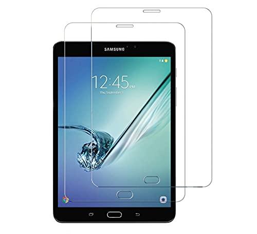 WEOFUN [2 Unidades] Compatible with Cristal Templado Samsung Galaxy Tab S2 8 Zoll...