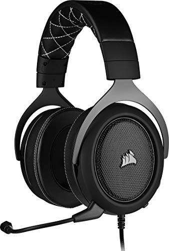 Corsair HS60 Pro Surround Auriculares para Juegos (7.1 Sonido Envolvente, Espuma...