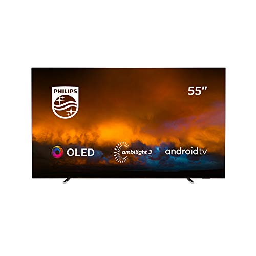 Philips 55OLED804/12 Televisor Smart TV OLED 4K UHD, 55 pulgadas (Android TV,...