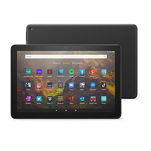 Te presentamos el tablet Fire HD 10 | 10,1' (25,6 cm), Full HD 1080p, 32 GB, color...