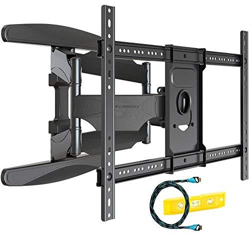 Invision Soporte de Pared para TV Ultra Fuerte – para Pantallas Curvo Plasma LCD...