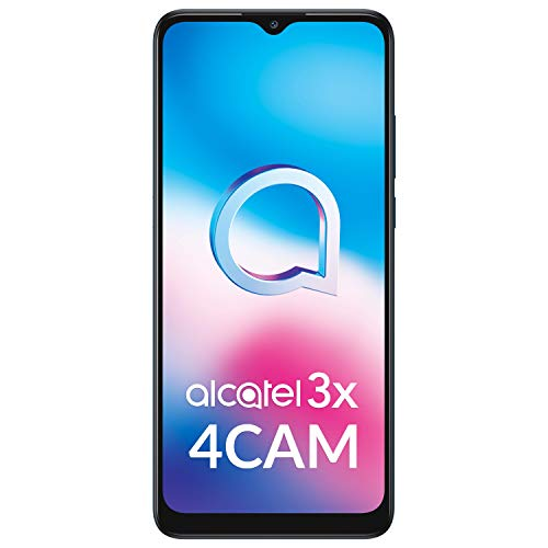 Alcatel 3X - Smartphone 6.52' (Procesador octacore, 4GB RAM + 64GB ROM, Ampliable...