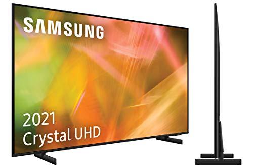 Samsung 4K UHD 2021 43AU8005- Smart TV de 43' con Resolución Crystal UHD, Procesador...