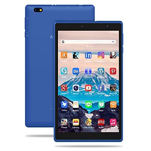 Tablet 8 Pulgadas Android 10 IPS Ultrar-Rápido Tablets HD 1280 * 800 Quad Core 3GB...