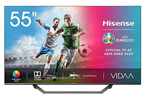 Hisense UHD TV 2020 55AE7400F - Smart TV 55' Resolución 4K, Dolby Vision, Wide Color...