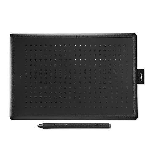 Wacom One by Wacom Medium - Tableta gráfica con lápiz digital sensible a la...