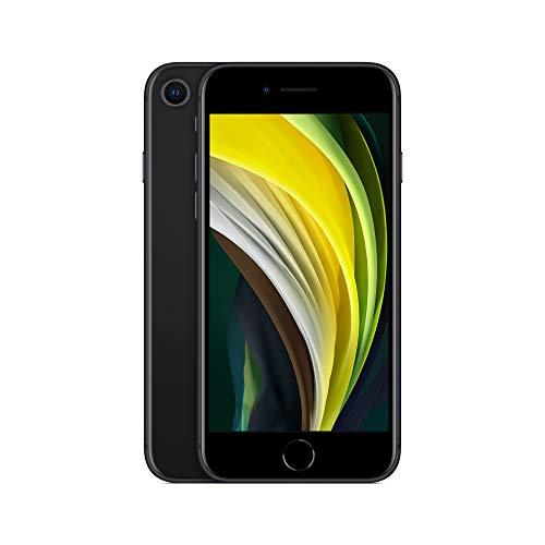 Apple iPhone SE (256GB) - en Negro (Incluye Earpods, Adaptador de Corriente)