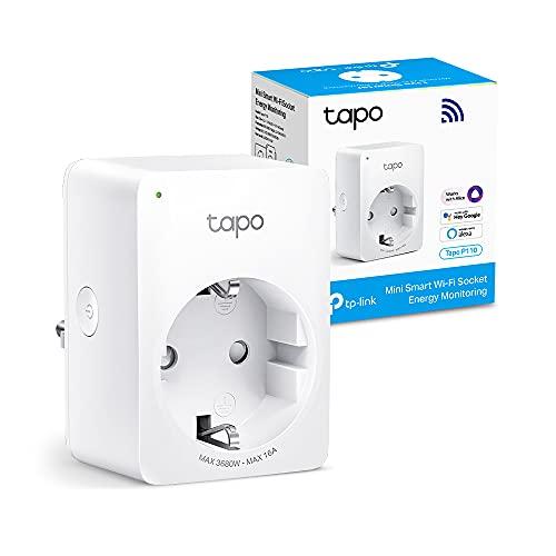 【Nuevo】 TP-Link Tapo P110 - Mini Enchufe Inteligente Wi-Fi (con Monitoreo...