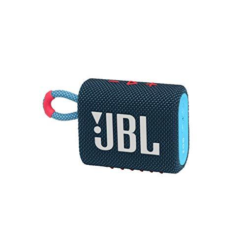 JBL GO 3 - Altavoz inalámbrico portátil con Bluetooth, resistente al agua y al...