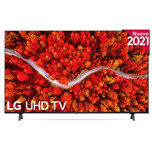 LG 55UP8000-ALEXA 2021-Smart TV 4K UHD 139 cm (55') con Procesador Quad Core, HDR10...