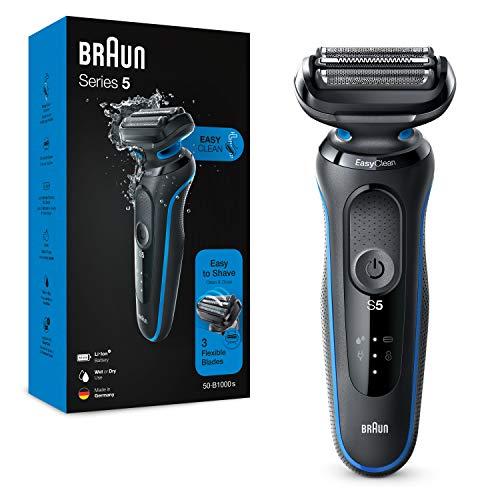 Braun Series 5 Afeitadora Eléctrica Hombre, Máquina de Afeitar Barba con...