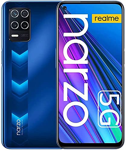 realme Narzo 30 5G Smartphone, Móvil 4GB + 128GB, Dimensity 700 5G Teléfono Móvil...