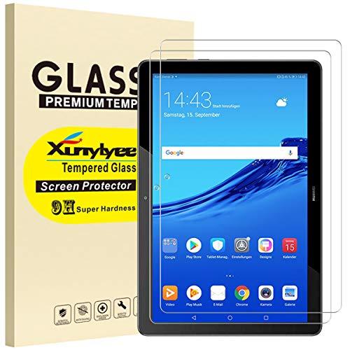 XunyLyee [2 Piezas] Protector de Pantalla Compatible Con Huawei MediaPad T5, Cristal...